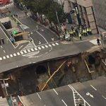 博多駅前の道路陥没の場所は…原因は七隈線か?状況・施工業者他