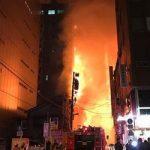 神田駅(神田鍛冶町)の火災の場所や原因は?停電の範囲を調査!